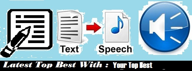 best text to speech software - your top best