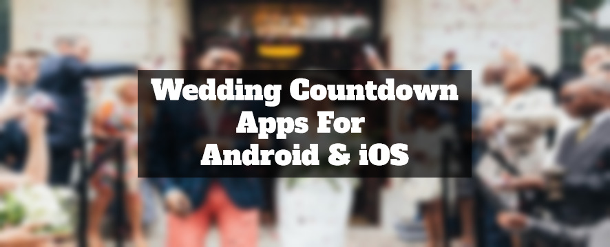 wedding countdown apps