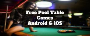 free pool table games apps for android and ios